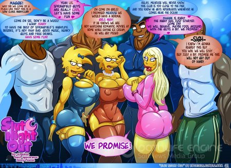 Simpsons porn Slut night Out
